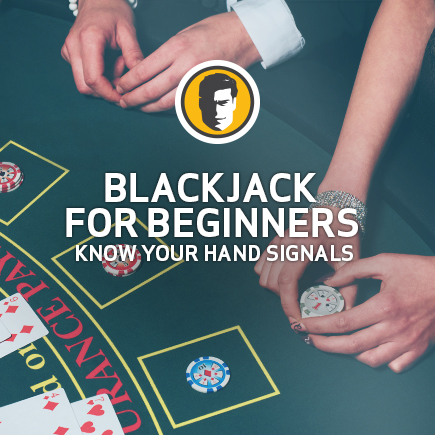 casino blackjack hand signals