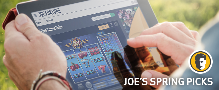 Learn more about the best online pokies to play this Spring.